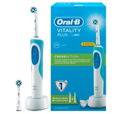 Oral-B Vitality Plus elektromos fogkefe CrossAction fejjel
