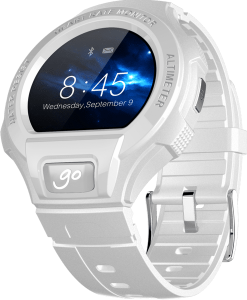 Alcatel GO WATCH, White Light Grey