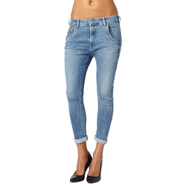 Pepe Jeans dámské jeans 3/4 kalhoty Topsy 30 modrá
