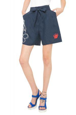 Desigual ženske kratke hlače 26 modra