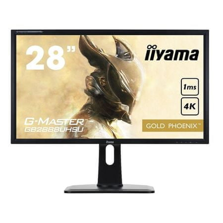 iiyama monitor 28'' GB2888UHSU 4K DP/HAS/SPEAKERS/USB GWARANCJA ZERO MARTWYCH PIKSELI