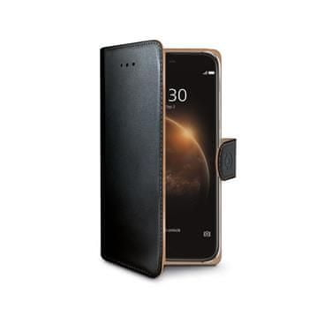 CELLY Wally Huawei G8 Flip tok, Fekete