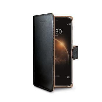 CELLY Wally Huawei G8 Flip tok, Fekete