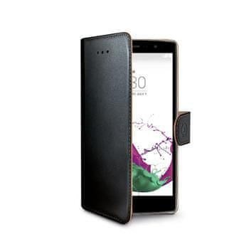 CELLY Wally LG G4s Flip tok, Fekete