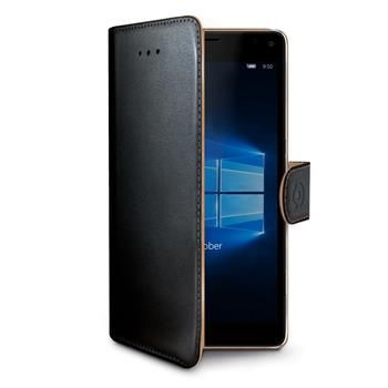 Celly Pouzdro Wally, Microsoft Lumia 950 XL, černé