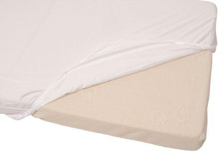 Candide Ochraniacz na materac 2v1 Tencel 70x140 cm biały