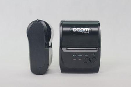 Ocom prenosni tiskalnik za davčne blagajne, Bluetooth, USB + torbica