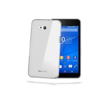 Celly tenký kryt Gelskin, Sony Xperia E4g, čirý