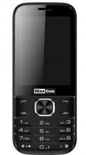 MaxCom MM237 Dual SIM Mobiltelefon, Fekete