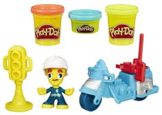 Play-Doh Town Policista na motorce