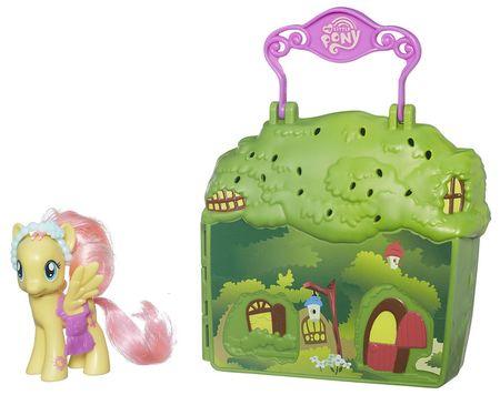 My Little Pony Kucykowe opowieści Zestaw chatka Fluttershy