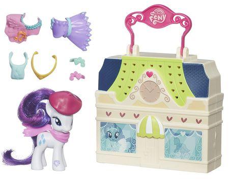 My Little Pony potovalni komplet Rarity