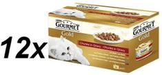 Gourmet Gold kosi mesa v omaki 12 x (4 x 85 g)
