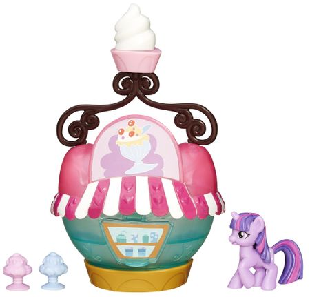 My Little Pony Fim: zbirateljski komplet Ice Cream Stand