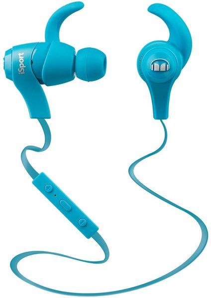 Monster iSport Bluetooth Wireless In Ear, světle modrá