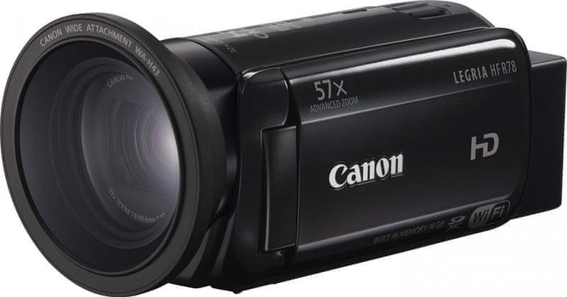 Canon LEGRIA HF R78 + 1000 Kč od Canonu zpět