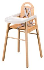 Candide jedilni stolček Combelle Lili natural