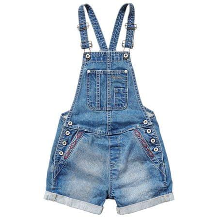 45d869c5f87 Pepe Jeans dívčí jeansové lacláče Romy 104 modrá