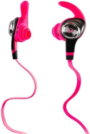 Monster iSport Intensity In-Ear Fülhallgató, Rózsaszín