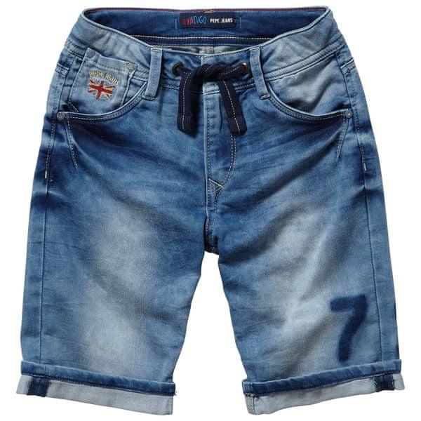 Pepe Jeans chlapecké kraťasy Whippet 152 modrá