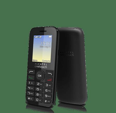 Alcatel 1016G, černá