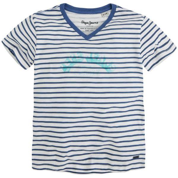 Pepe Jeans chlapecké tričko Cin 140 tmavě modrá