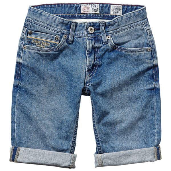 Pepe Jeans chlapecké kraťasy Ronald 104 modrá