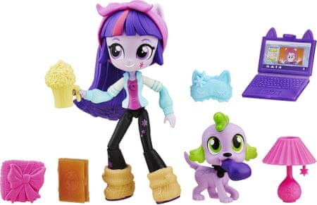 My Little Pony Equestria Girls Minis Piżamowe party Twilight Sparkle B6359