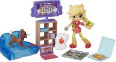 My Little Pony Piżamowe Party Opowieści Apple Jack Mini Lalka z Akcesoriami