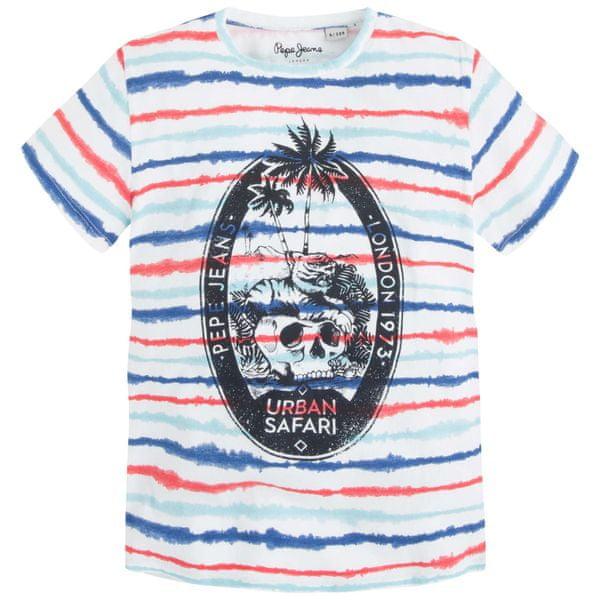 Pepe Jeans chlapecké tričko Taro 140 vícebarevná
