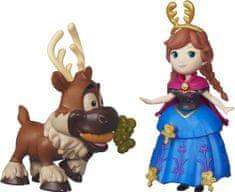 Disney Frozen mini lalka Anna i Renifer Sven