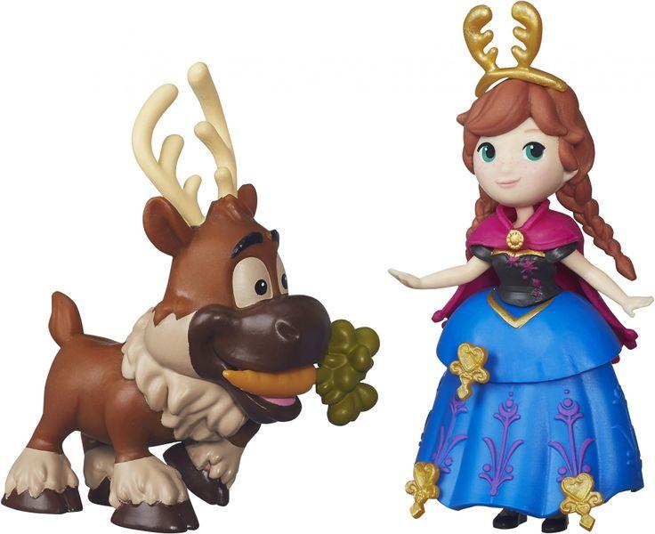 Disney Frozen malá panenka s kamarádem Anna