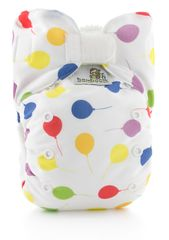 Bamboolik Plenkové kalhotky AIO balónky Stay Dry