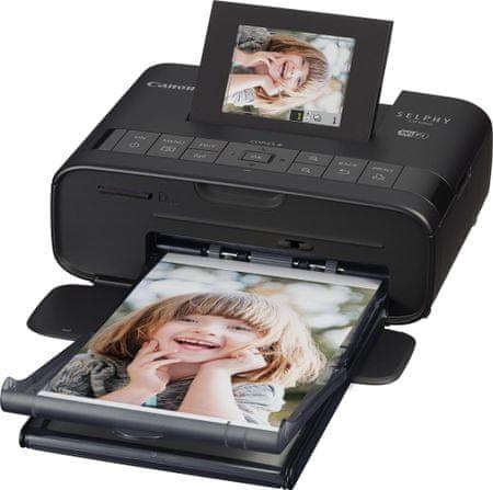 Canon prenosni foto tiskalnik CP1200 Selphy, črn