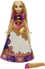 Disney Lalka Roszpunka w magicznej sukience B5297