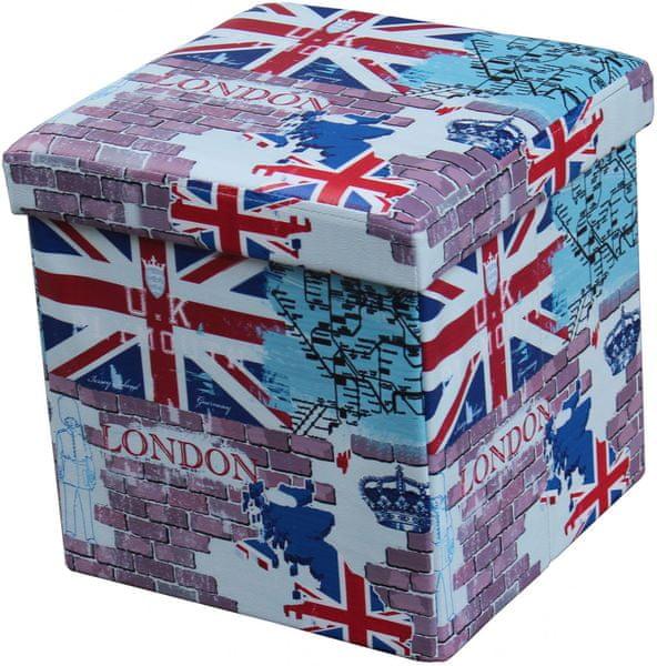 Westside Sedací box s úložným prostorem – Londýn