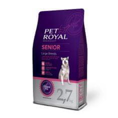 Pet Royal Senior Dog Large Breed kutyatáp - 2,7kg