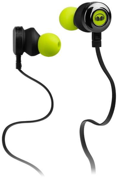 Monster ClarityHD, černá/zelená