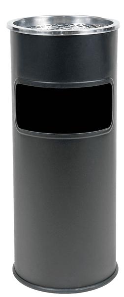 Westside Odpadkový koš s popelníkem 25 l - černý