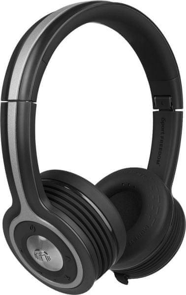 Monster iSport Freedom Wireless On-Ear, černá