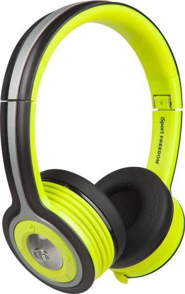 Monster iSport Freedom Wireless On-Ear, černá/zelená