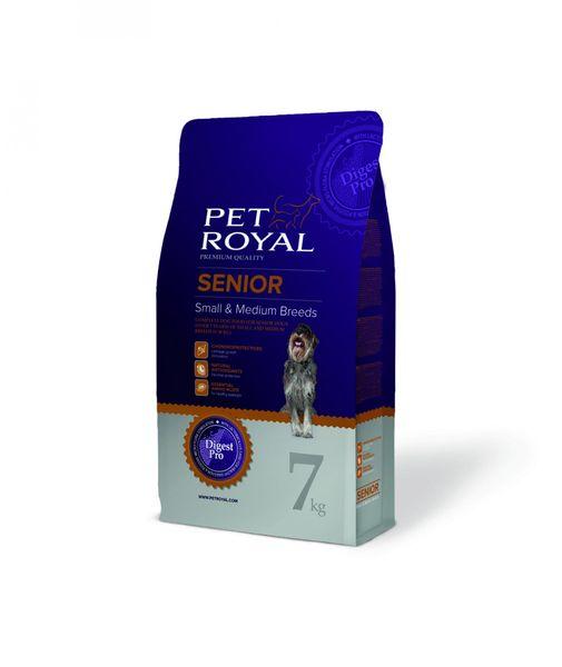 Pet Royal Senior Dog Small and Medium Breed 7 kg