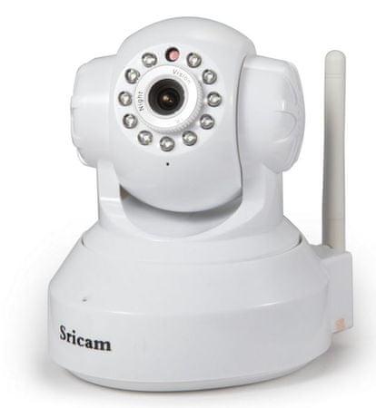 SRICAM brezžična IP kamera MT SP005, bela