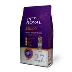 Pet Royal Senior Dog Small and Medium Breed Kutyatáp, 2,7kg