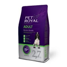Pet Royal Adult Dog Medium Breeds Kutyatáp, 2,7kg