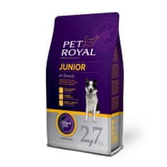 Pet Royal Junior Dog All Breeds Kutyatáp, 2,7 kg