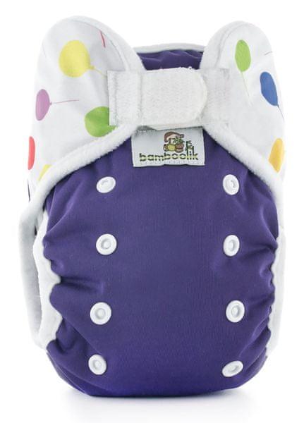 Bamboolik Svrchní kalhotky fialová+balónky