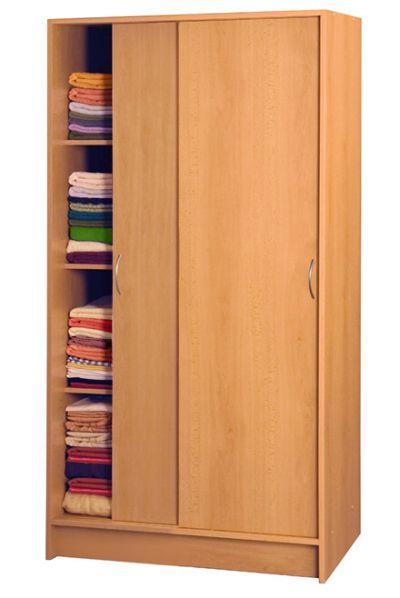 Skříň s posuvnými dveřmi S5223-I, buk