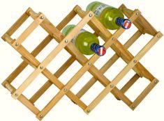 Westside Stojan na víno dřevěný