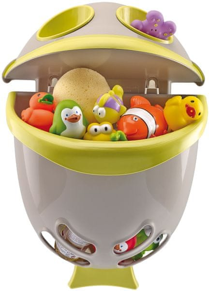 ThermoBaby Box na hračky zelený